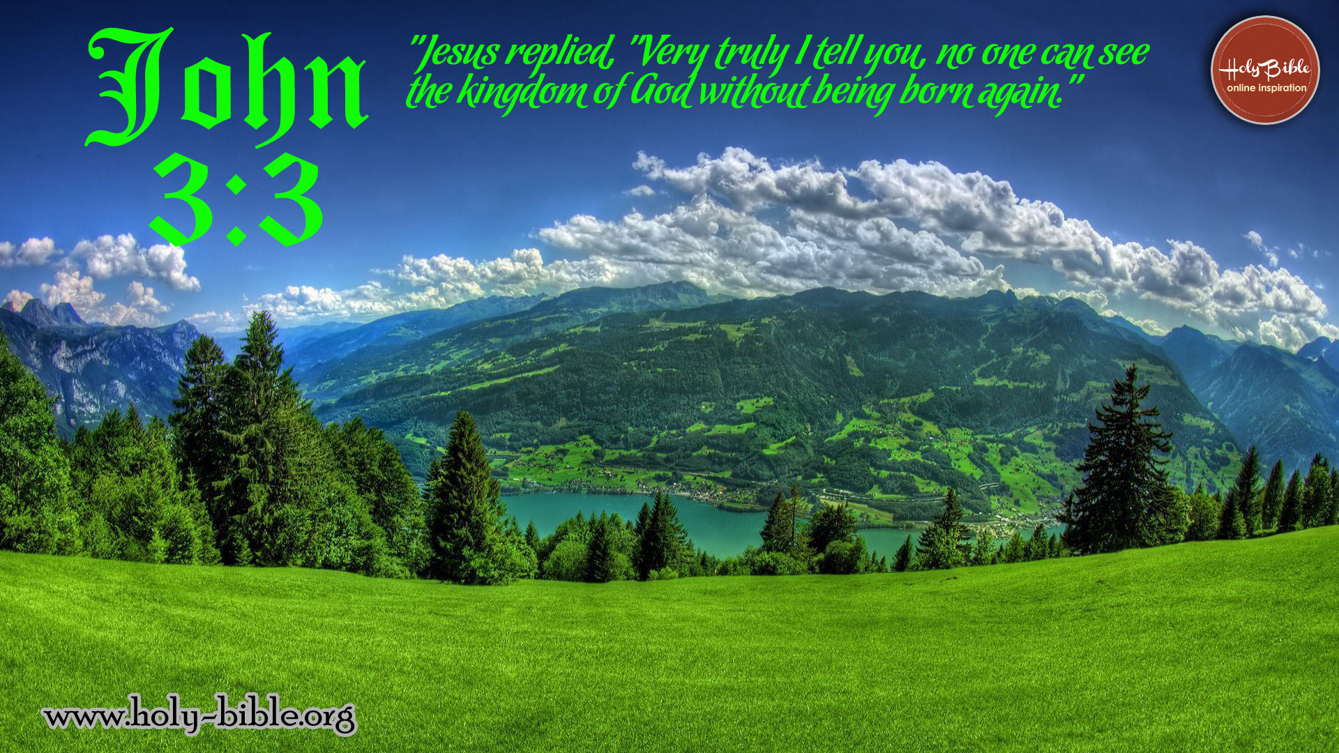 Bible Verse of the day - John 3:3