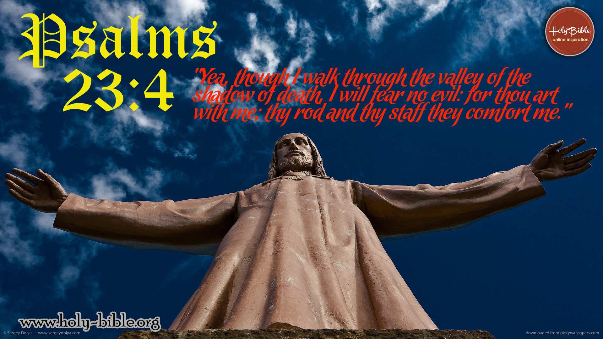 Bible Verse of the day Psalms 4