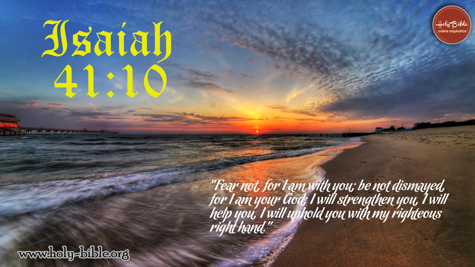 Bible Verse of the day - Isaiah 41:10