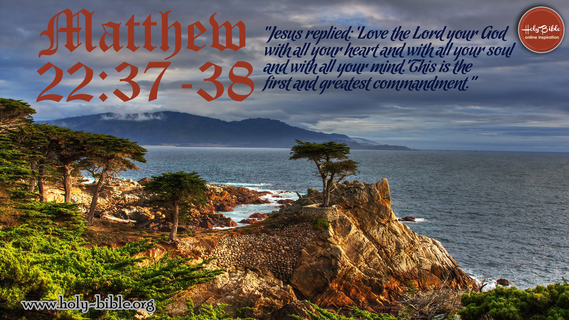 Bible Verse of the day - Matthew 22:37-38