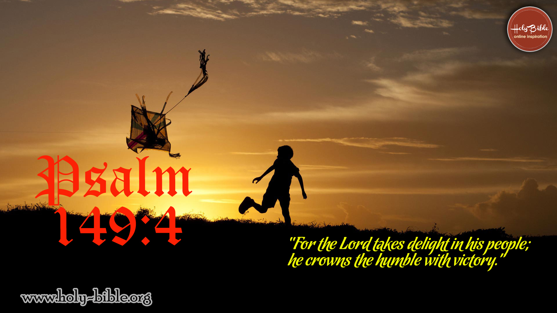 Bible Verse of the day - Psalm 149:4