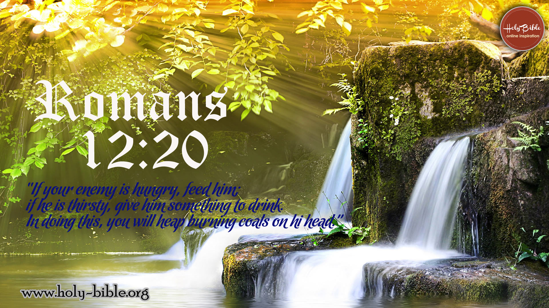 Bible Verse of the day - Romans 12:20