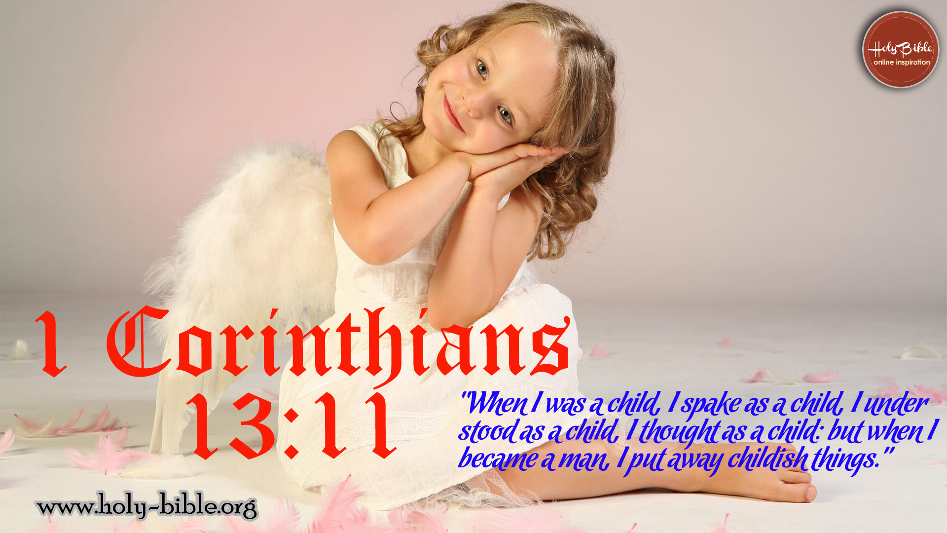 Bible Verse of the day - 1 Corinthians 13:11