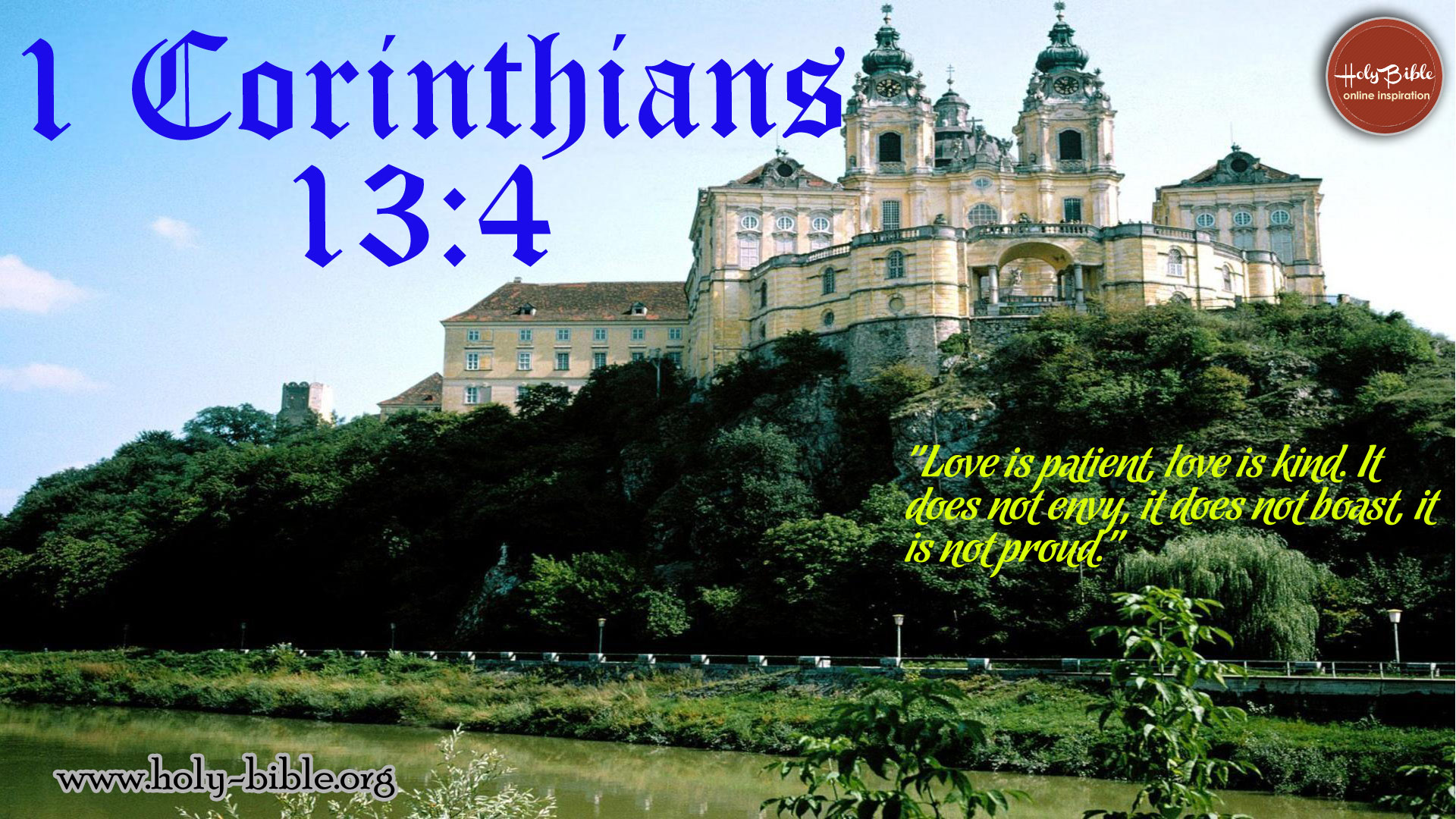 Bible Verse of the day – 1 Corinthians 13:4