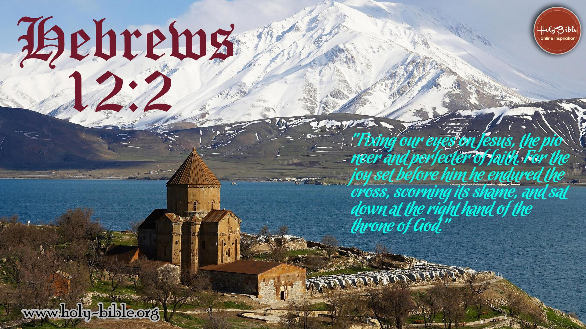Bible Verse of the day - Hebrews 12:2