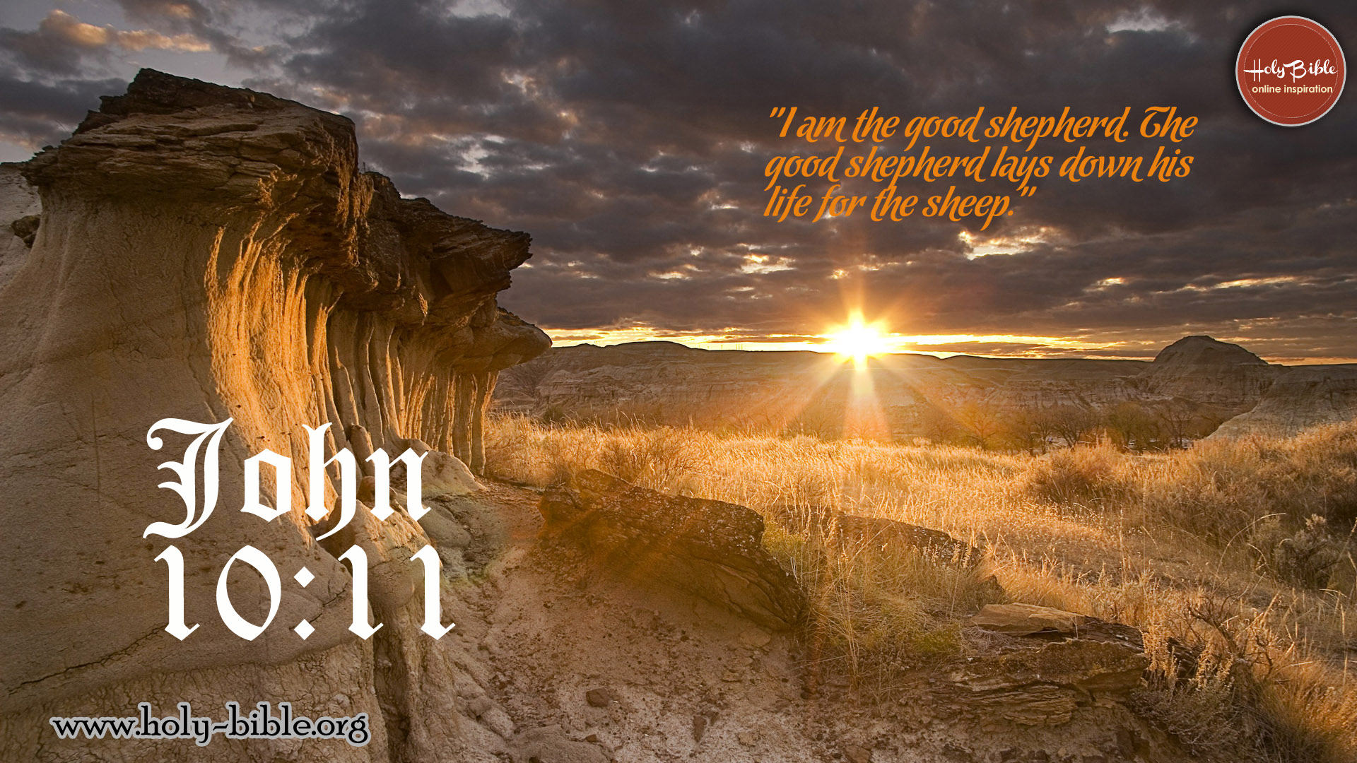 Bible Verse of the day - John 10:11