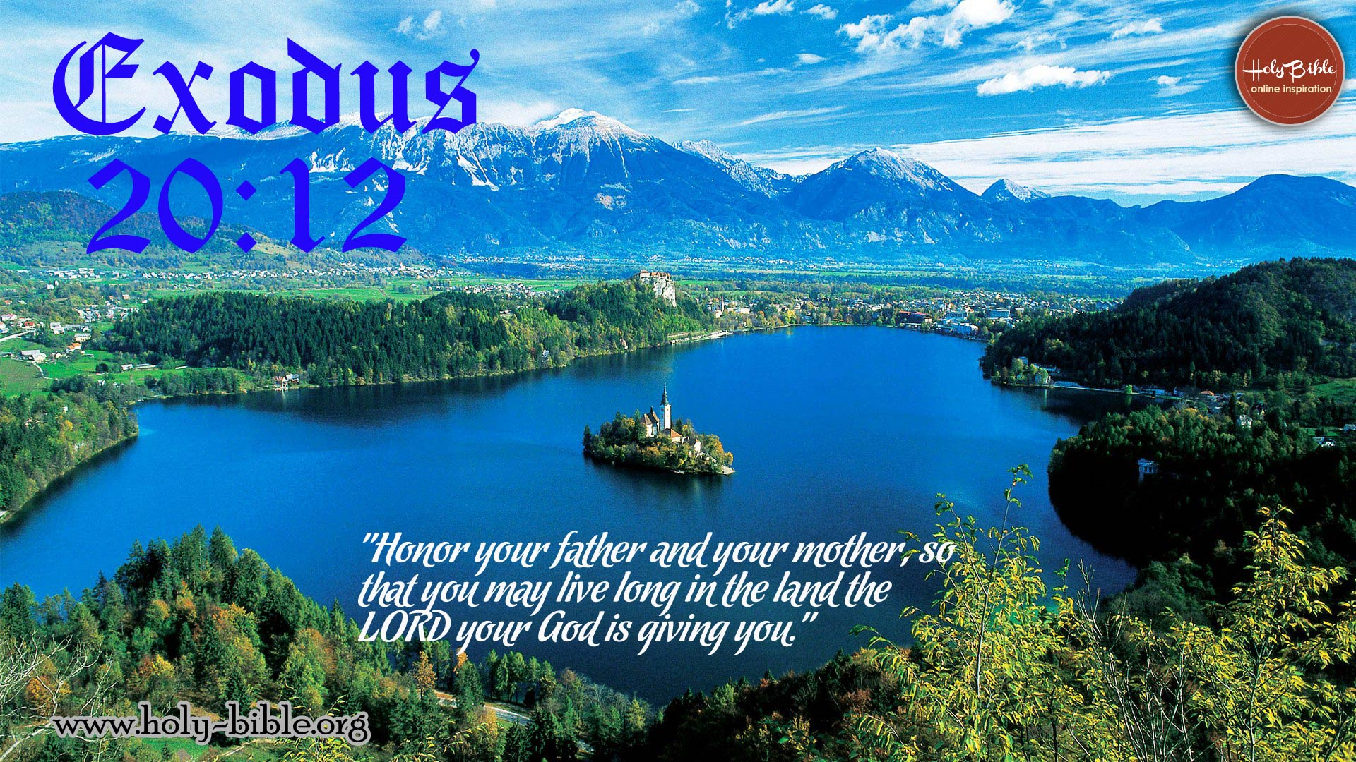 Bible Verse of the day – Exodus 20:12