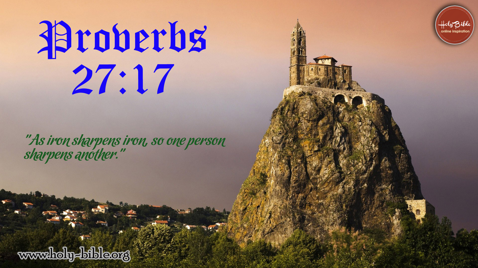 Bible Verse of the day - Proverbs 27:17