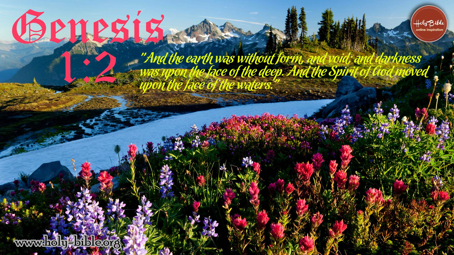 Bible Verse of the day – Genesis 1:2