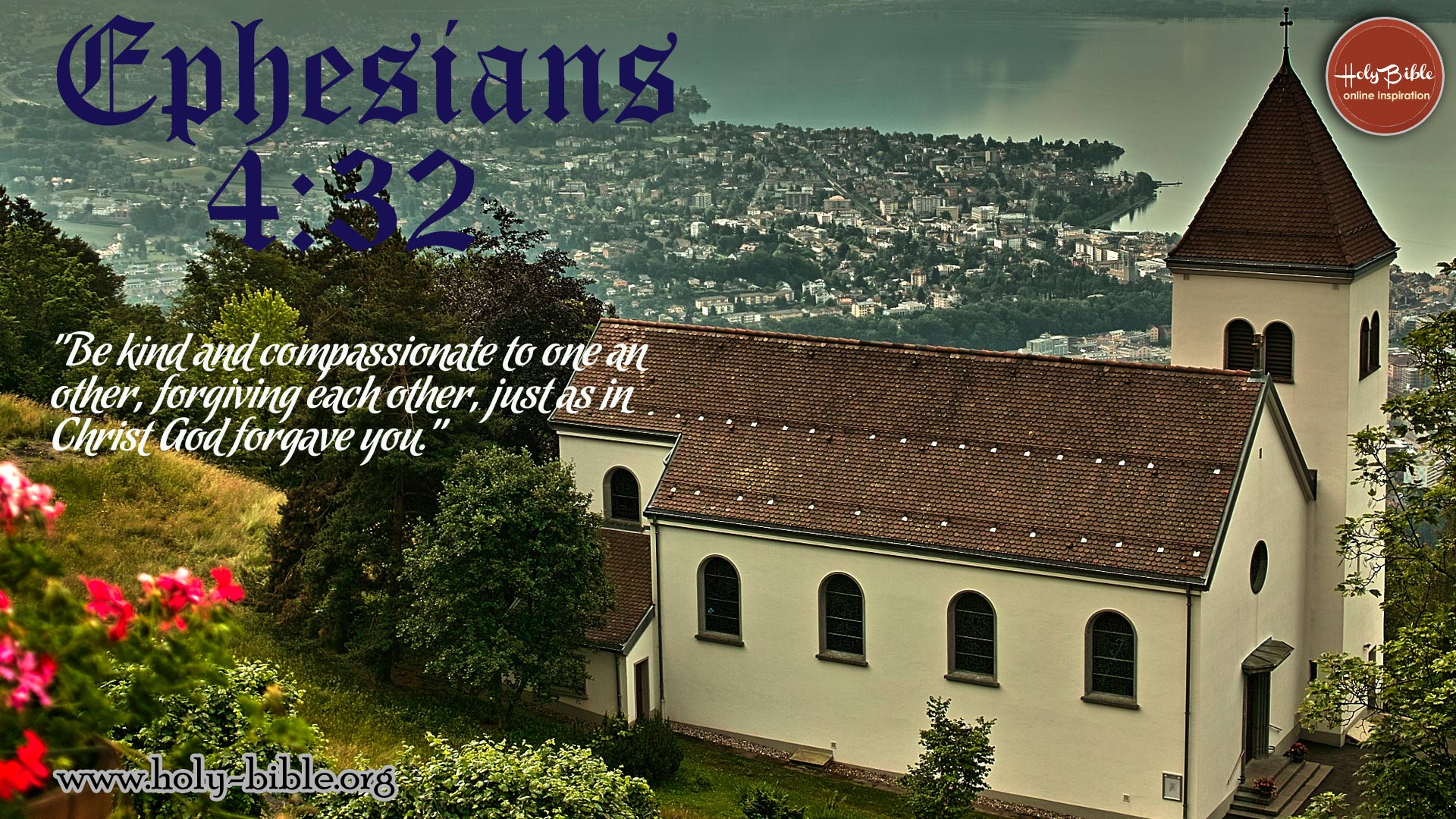 Bible Verse of the day –  Ephesians 4:32