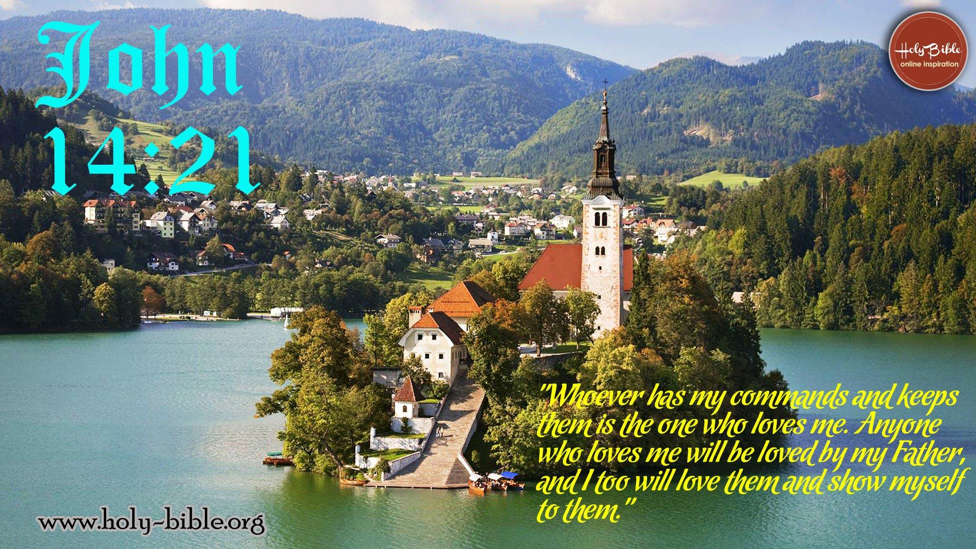 Bible Verse of the day – John 14:21